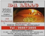 Pizzeria Da Lillo